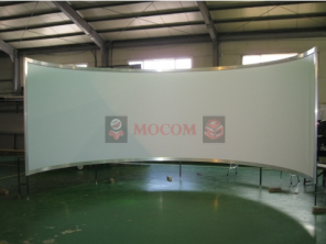 Mocom Curved projection screen for simulator
