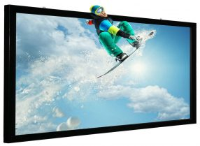 3D SILVER PROJECTION SCREEN FROM MOCOM