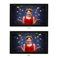 DUPIC : DOUBLE SIDED PROJECTION SCREEN